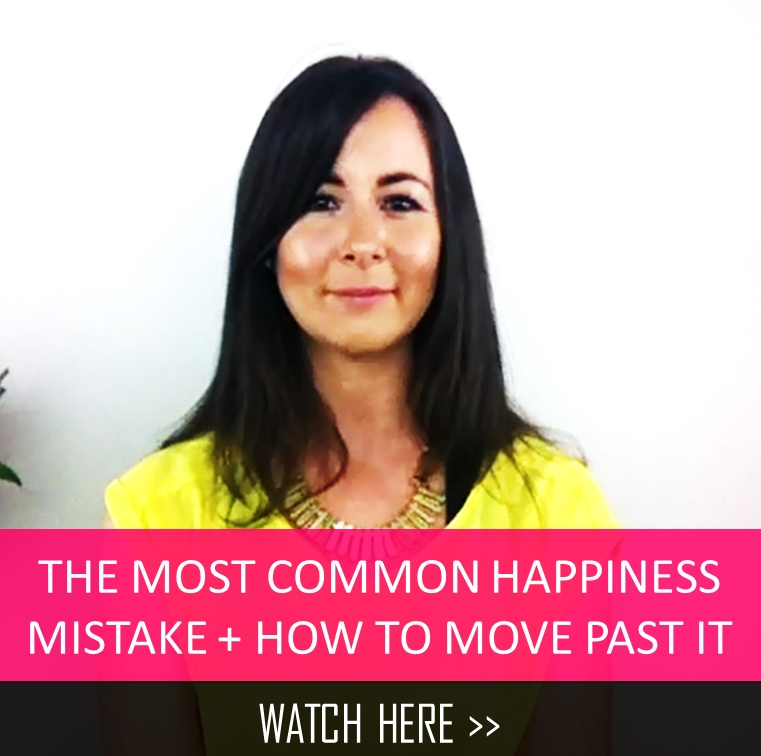 The most common happiness mistake + how to move past it