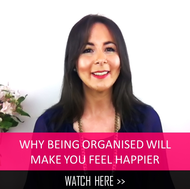 Why being organised makes you feel happier
