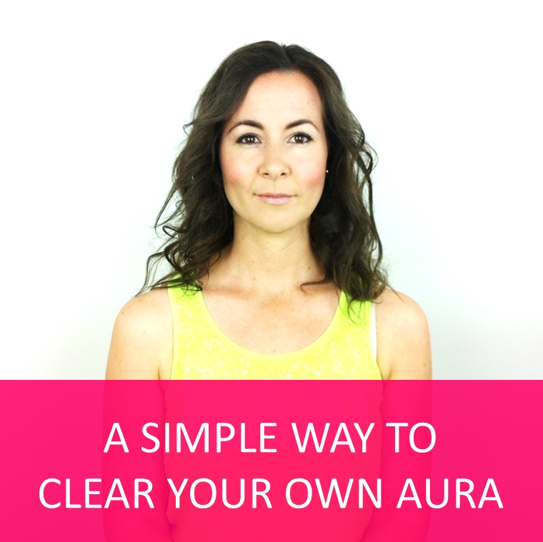 A simple way to clear your own aura