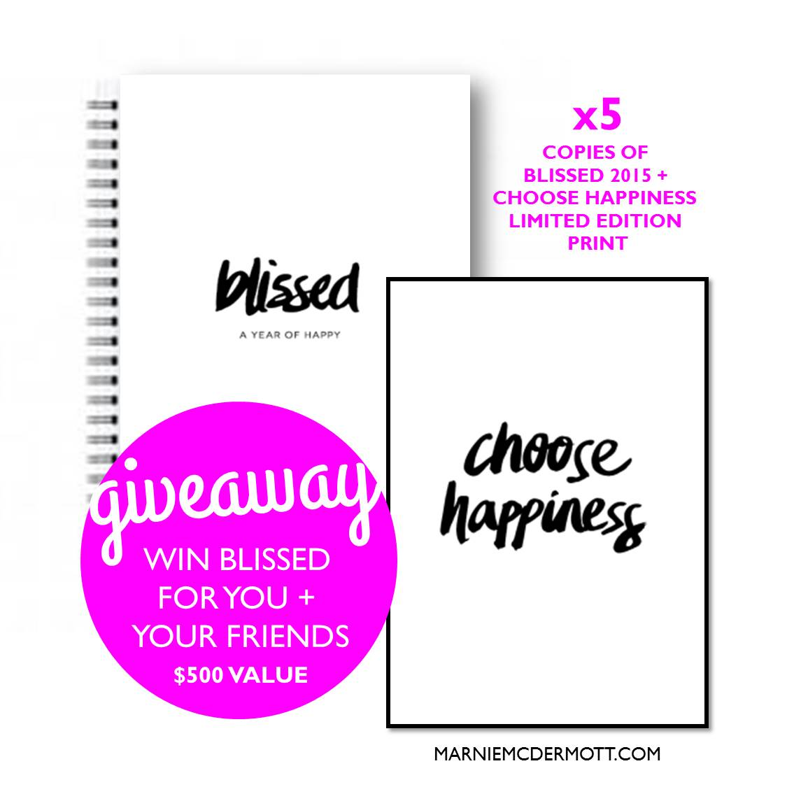 Win Blissed 2015 for you + your friends